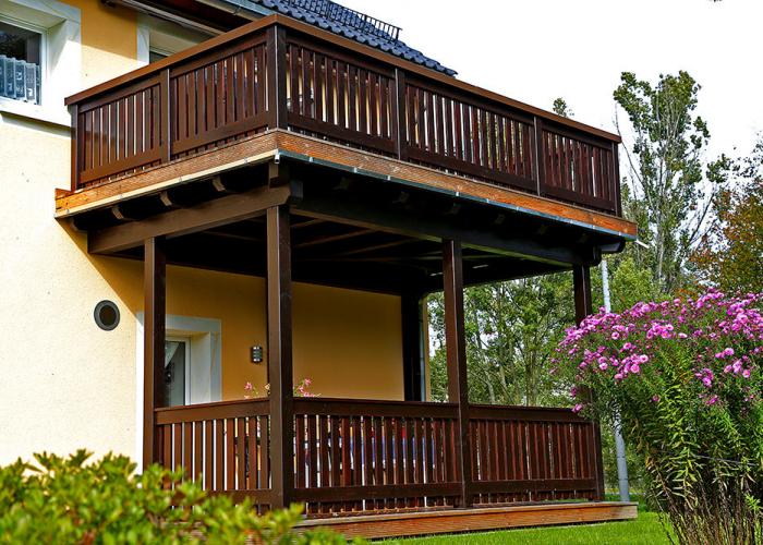 Balkonanlage in Ehrenberg/Sachsen